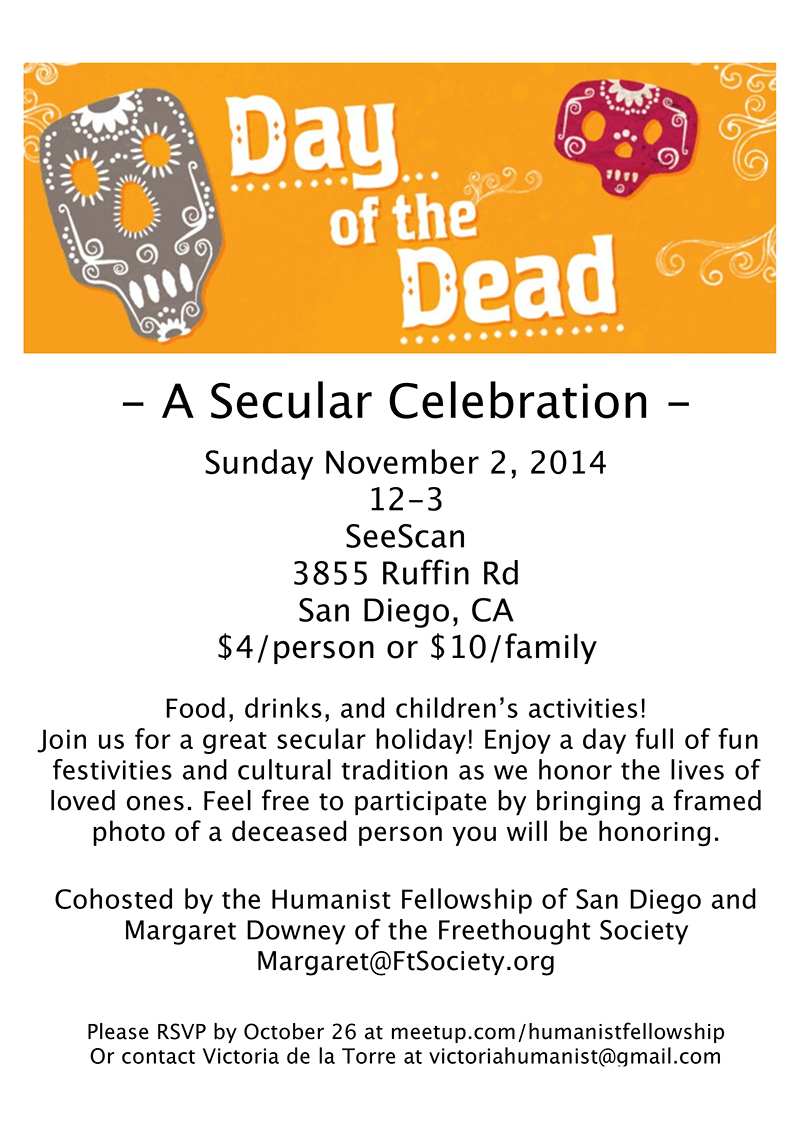Day of the Dead-A Secular Celebration